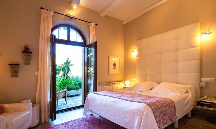 Terraza hoteles con encanto españa