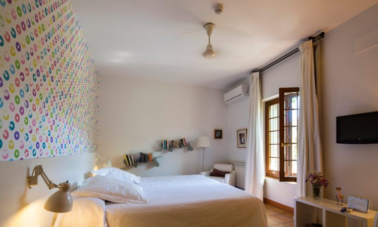 Granada Hotel La Almunia del Valle. Habitacion descanso en granada