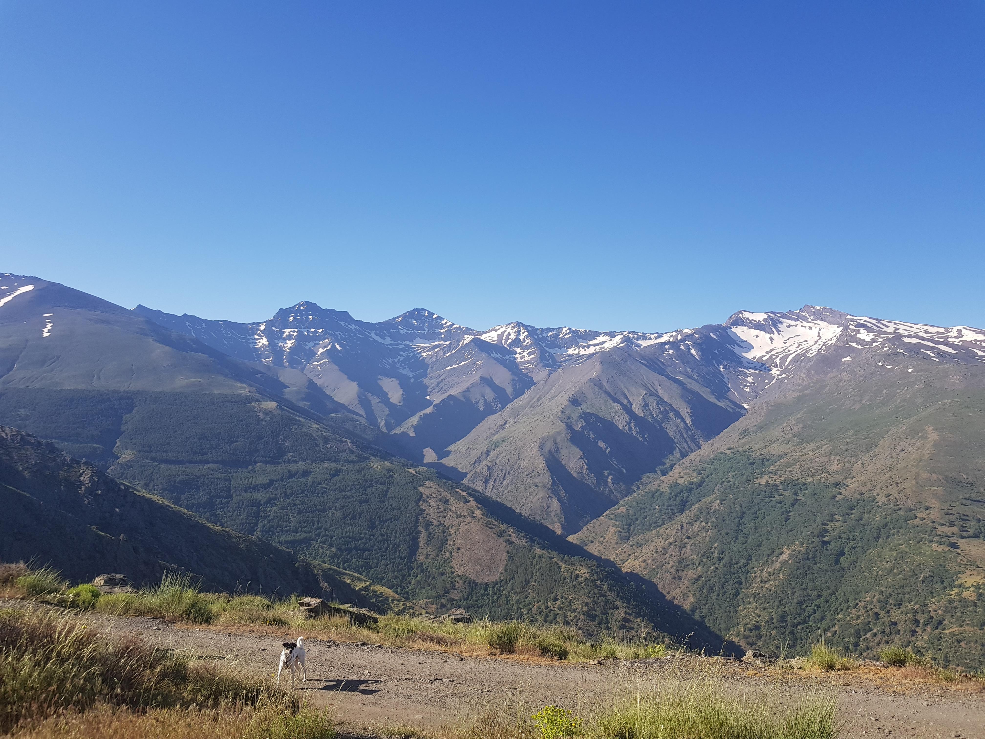 Cumbres en Sierra Nevada